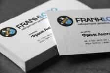 Визитки для дизайн-студии Franklogo