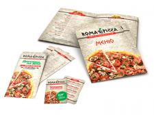 "Фирменный стиль ""Roma Pizza"""
