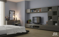 Визуализация спальни для каталога