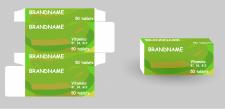 Дизайн коробки для витаминов
