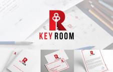 """Логотип """"Key Room"""" для компании орг. квест-комнаты"""
