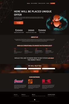 Сайт по инвестициям