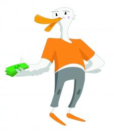Персонаж для онлайн-сервиса