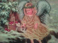 Ангелочек с котиком