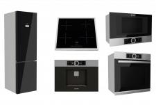 Моделирование кухонная техника Bosch