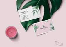 Дизайн визитки для  брендового магазина