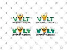 Логотип для интернет-магазина электроники