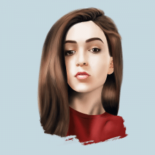 портрет (photoshop)