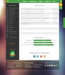 Flat redesign freelancehunt.com