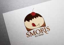 Лого для мороженного