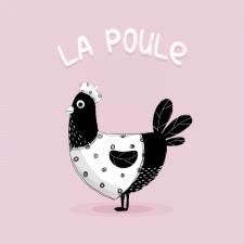 Иллюстрация-логотип для магазина детской одежды