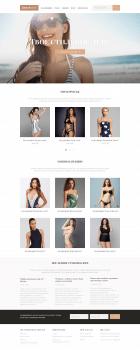 Дизайн интернет-магазина женских купальников
