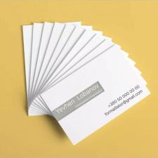 Дизайн визитки в минималистичном стиле (2)