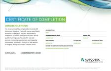 Официальный сертификат Autodesk: 3DsMax