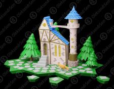 Кольоровий будинок