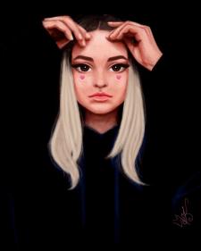 Стилізований портрет