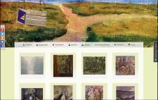 Сайт для галлереи продажи картин