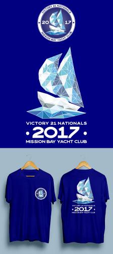 Логотип для мероприятия и дизайн футболки