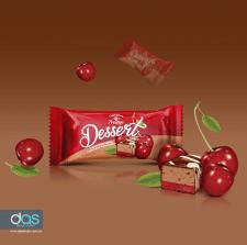 Дизайн упаковки десертной конфеты