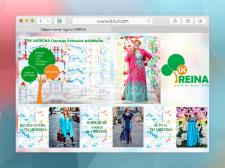 Оформление группы Интернет магазина одежды
