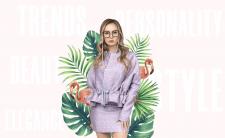 Коллаж для магазина женской одежды