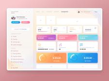 Дизайн личного кабинета для рекламного сервиса