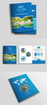 Логотип + папка + бланк + визитка