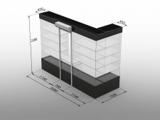 Моделирование и визуализация торгового оборудовани