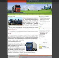 Сайт Канадской компания по перевезке грузов