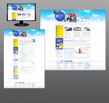 дизайн сайта (рефераты на заказ - для США)