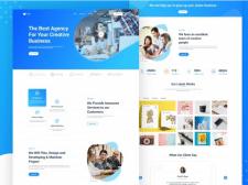 Digital Agency Template Design