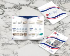 Верстка каталога медицинской мебели Amed