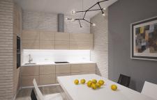 кухня - столовая