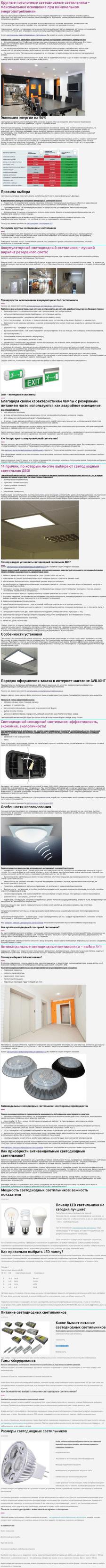 ЭЛЕКТРОНИКА | Интернет-магазин светодиодных светил