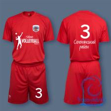 Оформление формы волейбольной команды
