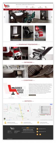 Barber kreslo trade