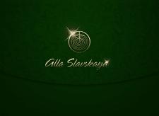 Alla Slavskaya Florist Personal Logo Redesign