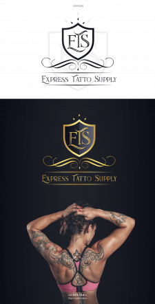 Логотип для Express Tatto Supply