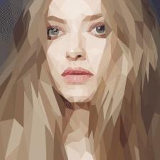 Полигональный портрет №3