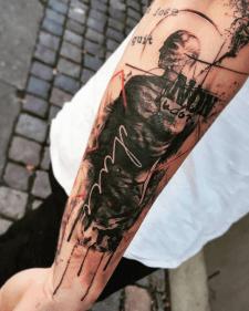 tattoo trashpolka тату трешполька