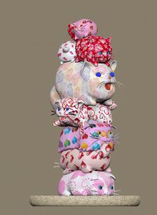 декоративная горка, фигурка под печать ,валентинки