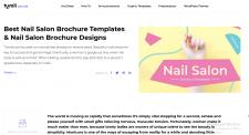 Nail Salon Brochure Templates. Nail Salon Bro