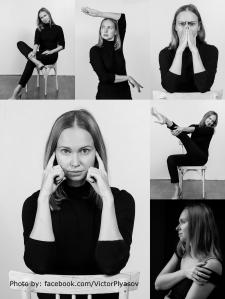 Черно-белая фотосессия