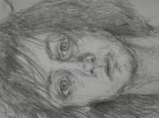 портрет скетч