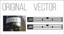 Отрисовка в вектор по фото наклеек на авто
