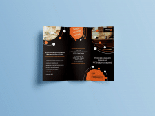 брошюра для салона мебели