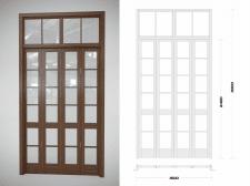 визуализация двери