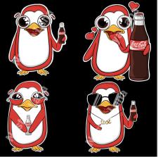 Концепт бренд-персонажа Coca Cola