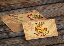 Визитки для пиццерии