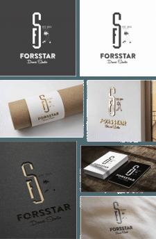 """Логотип танцювальної студії """"FORSSTAR"""""""